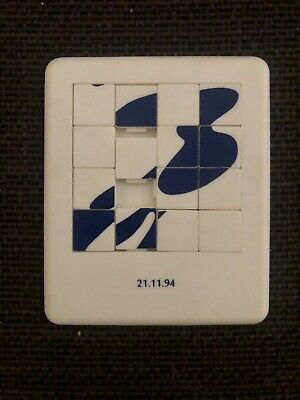 New Order 16-Square Sliding Puzzle - Joy Division - Ultra Rare Promo Item • 20.99£