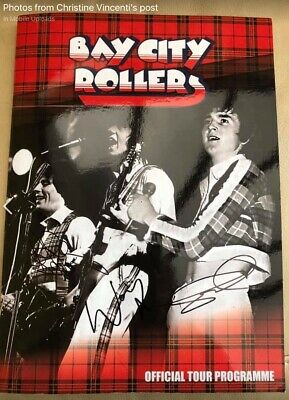 Bay City Rollers Official Tour Programme 2015 • 15£
