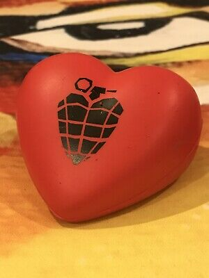 Extremely Rare GREEN DAY American Idiot Heart Promotional Stress Toy 2004 • 9£