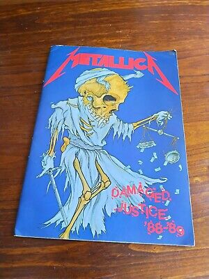 Metallica And Justice For All Tour Programme Collectible Souvenir • 0.99£
