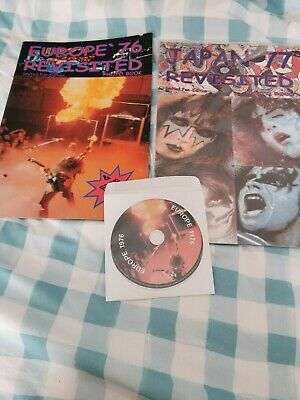 Kiss Europe '76 Revisited And Japan 77 Revisited. Plus CD. • 20£