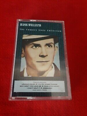 HANK WILLIAMS - The Country Store Collection -1988 Casette Tape • 3.95£