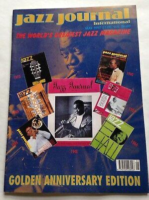 Jazz Journal, May 1997, Golden Anniversary Edition, Collectable • 3£