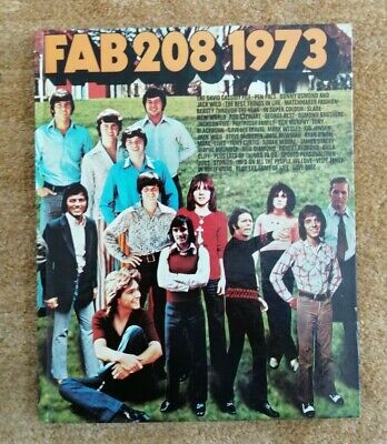Vintage FAB 208 (Radio Luxembourg) 1973 Year Annual. Excellent Condition. • 37.99£