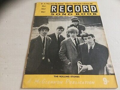 THE RECORD SONG BOOK  The Rolling Stones • 3.99£