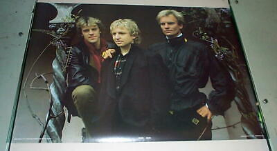 THE POLICE Vintage Group Poster • 12.56£