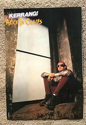 ALICE IN CHAINS - 1993 Full Page UK Magazine Poster • 3.95£