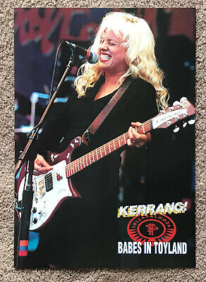 BABES IN TOYLAND - 1993 Full Page UK Magazine Poster • 3.95£