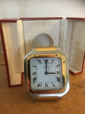 A Cartier Travelling Clock- A Gift From Robert Plant To Paul Martinez. • 995£