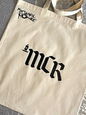 My Chemical Romance Candle Logo Tote Bag. MCR. Gerard Way • 4.99£