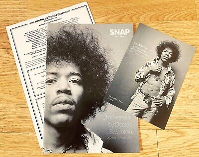 JIMI HENDRIX London Gallery Exhibition Catalogue & Price List RARE MEMORABILIA • 34.99£