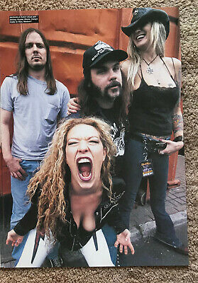 NASHVILLE PUSSY ~ 2000 Full Page UK Magazine Poster • 3.95£