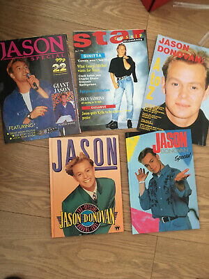 Jason Donovan Vintage Annual And Books • 50£
