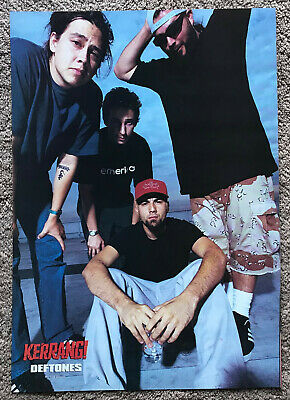 DEFTONES - 1997 Full Page UK Magazine Poster • 3.95£