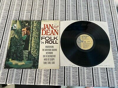 Jan & Dean Lp (folk N Roll) On Liberty Lst 7431 In Ex+ Condition • 8£