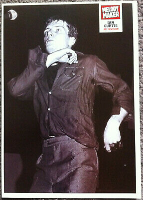 IAN CURTIS - Full Page UK Magazine Poster JOY DIVISION • 3.95£