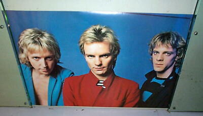 THE POLICE Vintage Group Poster Last One • 14.23£