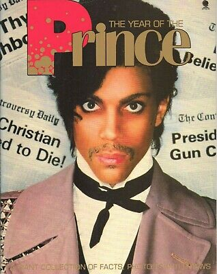 Prince Book  The Year Of The Prince  1984 Biography • 29.99£