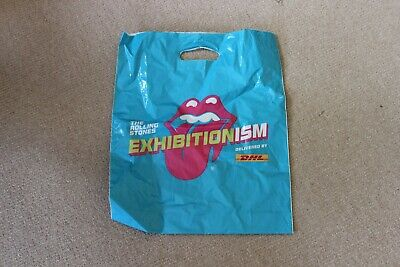 Rolling Stones Exhibitionism Carrier Bag • 1.99£