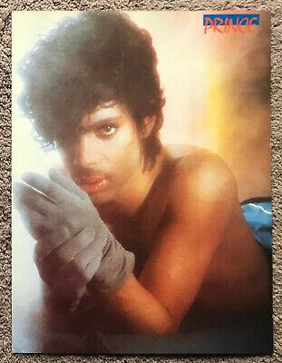 PRINCE - 1985 Full Page Magazine Annual Poster • 3.95£