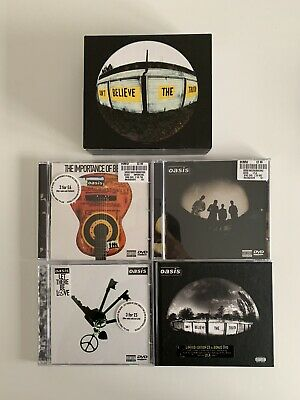 Oasis - Don't Believe The Truth - DVD Singles Box Set - Complete - Rare Like New • 54.99£
