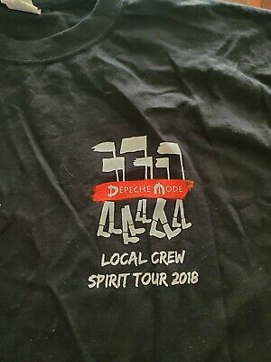 Depeche Mode Local Crew Xl T-shirt - Spirit Tour 2018 • 14.81£