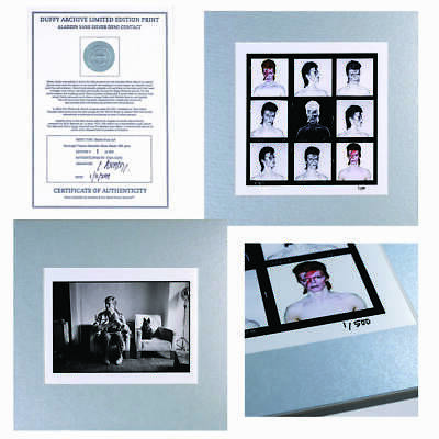 David Bowie - Aladdin Sane Limited Edition Silver Print Collection - Official • 149.99£