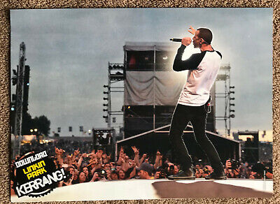 LINKIN PARK - Full Page UK Magazine Poster • 3.95£