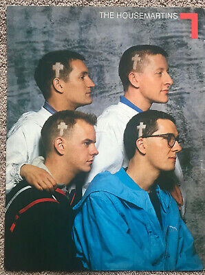 THE HOUSEMARTINS -- 1986 Full Page UK Magazine Poster • 3.95£