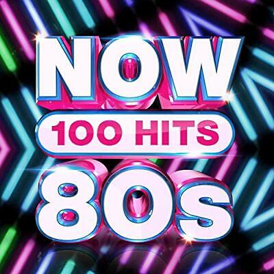 NOW 100 Hits 80s [Audio CD] Various Artists • 6.09£
