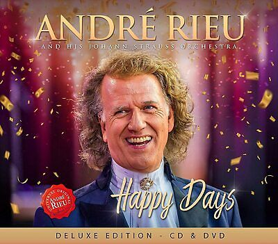 Happy Days - Deluxe Edition [CD + DVD] Andre Rieu • 6.59£