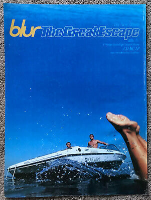 BLUR - THE GREAT ESCAPE 1995 Full Page UK Magazine Ad • 3.95£