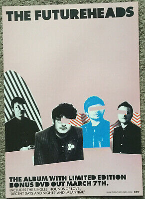 THE FUTUREHEADS 2004 Full Page UK Magazine Ad  • 3.95£