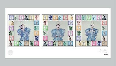 David Bowie - Limited Edition 40th Anniversary Scary Monsters Print - Official • 225£