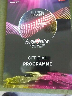 Eurovision Song Contest 2015 Vienna Official Programme • 20£