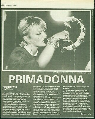 The Primitives Memorabilia Clippings • 3.25£