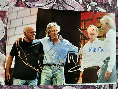 Pink Floyd  HAND SIGNED BY Roger Waters, Nick Mason And David Gilmore • 0.99£