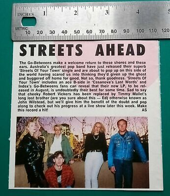 The Go-Betweens Memorabilia Clippings Lot B • 3.50£