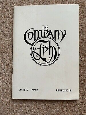 FISH (MARILLION) - THE COMPANY FAN CLUB MAGAZINE - ISSUE No. 8 - JULY 1992 • 6.50£