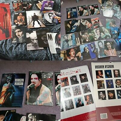 Large Marilyn Manson Magazine And Calendar Cuttings Collection  • 20.99£