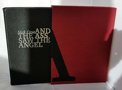 NICK CAVE / AND THE ASS SAW THE ANGEL ~ RARE LUXURY EDITION ~ No 68 Of 75 COPIES • 800£