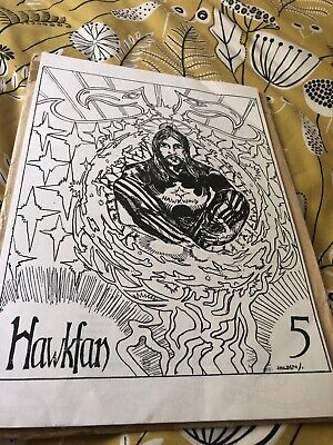 Hawkwind - Hawkfan  Mag Issue 5 • 12.50£