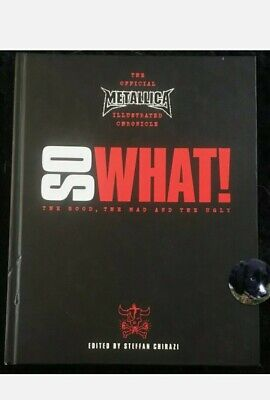 So What Metallica Book Hardback Chronicle  • 14.99£