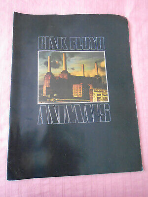 Pink Floyd: Animals: Tour Brochure / Booklet / Collectable: • 25£