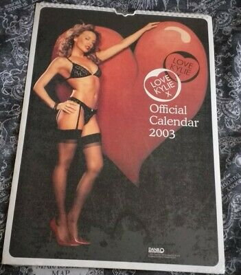 Kylie Minogue Official Calendar 2003 - New And Sealed • 25£