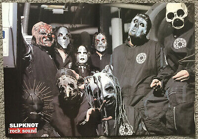 SLIPKNOT -- UK Magazine Centrefold Poster • 4.95£