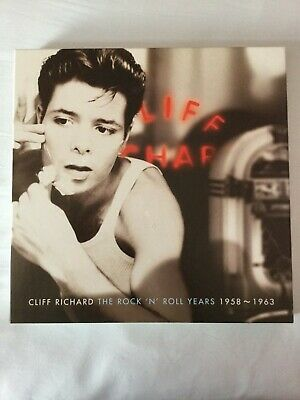 CLIFF  RICHARD   THE  ROCK  AND  ROLL  YEARS  1958  To  1963 • 49£