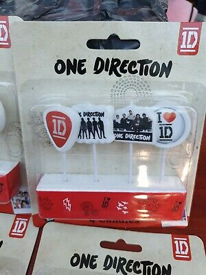 4 One Direction Candles • 1.50£