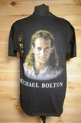Vintage Michael Bolton 1993 Timeless European Tour T-Shirt  XL • 11.99£
