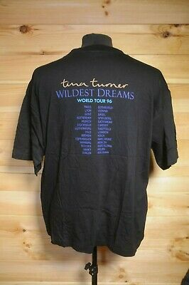Vintage Rare Tina Turner Wildest Dreams Tour T-Shirt 1996 XL • 11.99£